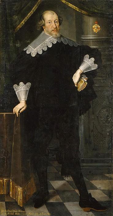 Gabriel Gustafsson Oxenstierna af Eka och Lindö (1587-1640). Cornelius Arendtz (Attributed)