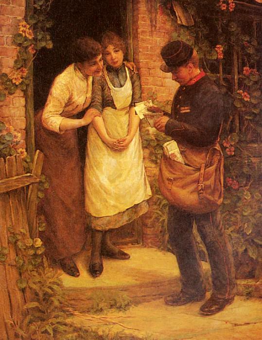 The Postman. Thomas Liddall Armitage