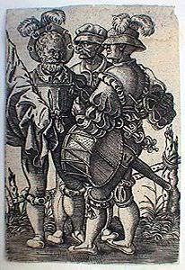 Три воина. Альбрехт Альтдорфер