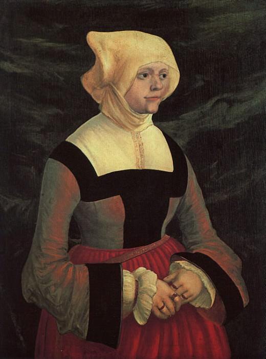 Портрет девушки. Альбрехт Альтдорфер