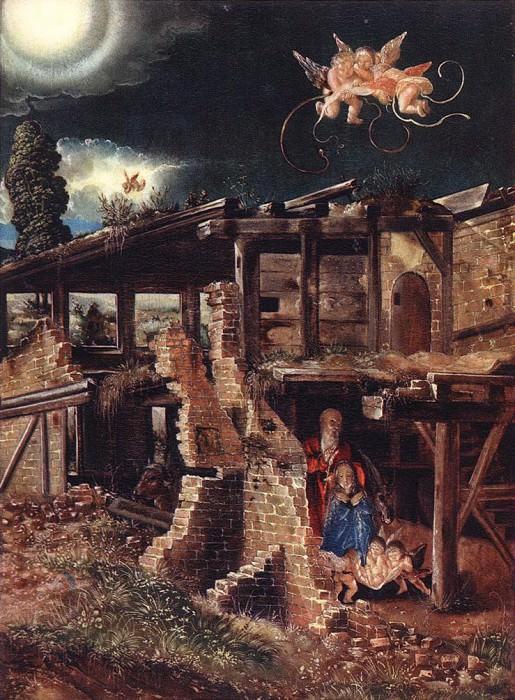 Рождество 1513. Альбрехт Альтдорфер