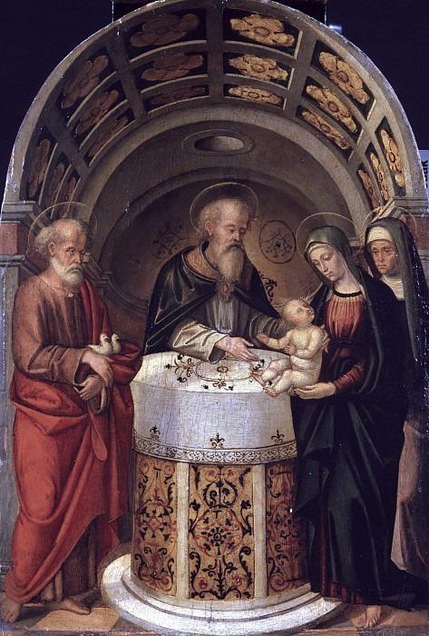 Представление Иисуса в храме. Томмазо Алени