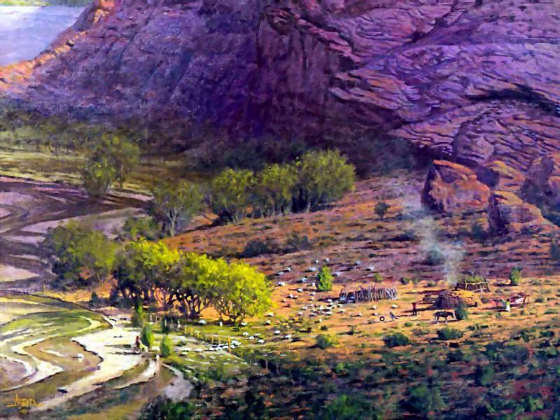 abeita canyon de chelly. Jimmy Albeita