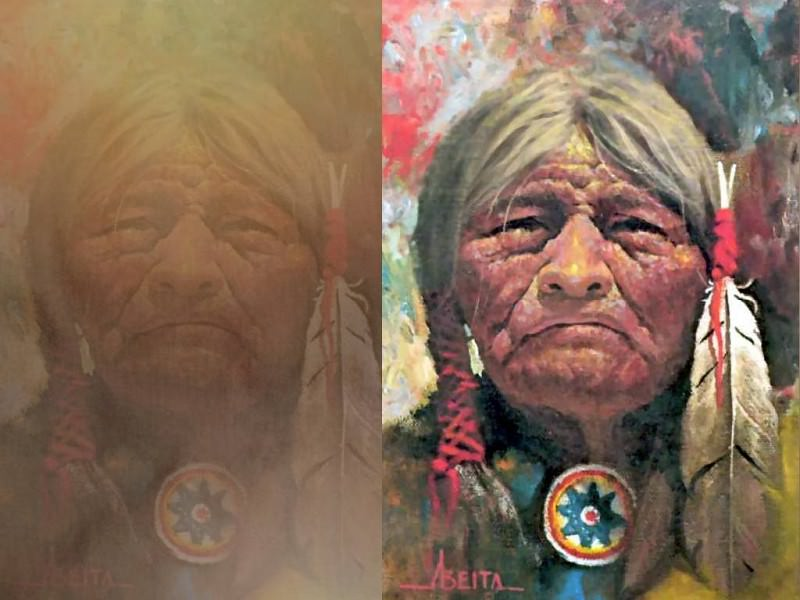 abeita cheyenne warrior. Jimmy Albeita
