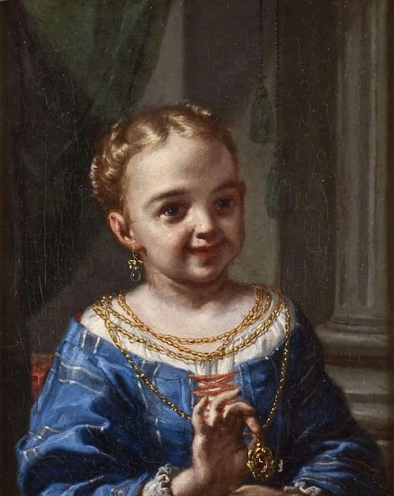 Девочка с ювелирным украшением. Антонио Амороси