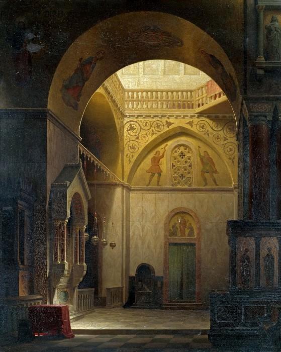 Byzantine Church. Max Emanuel Ainmiller