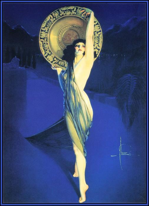 Exotic Ladies06-Armstrong Rolf-The Enchantress-D50. Рольф Армстронг
