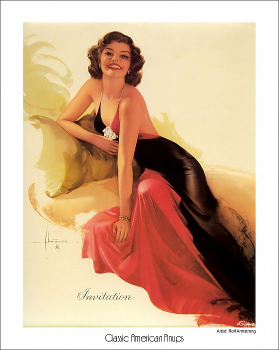 american pinups. Rolf Armstrong