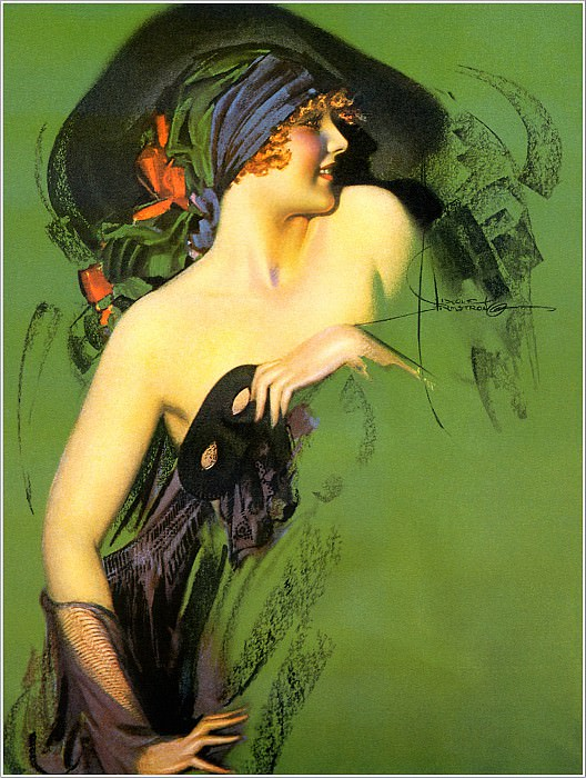 Cos 042 Rolf Armstrong Untitled. Rolf Armstrong