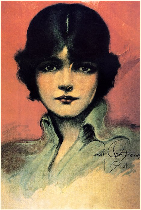 Cos 047 Rolf Armstrong Untitled. Rolf Armstrong