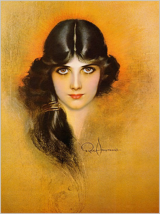 Cos 037 Rolf Armstrong Dream Girl. Rolf Armstrong