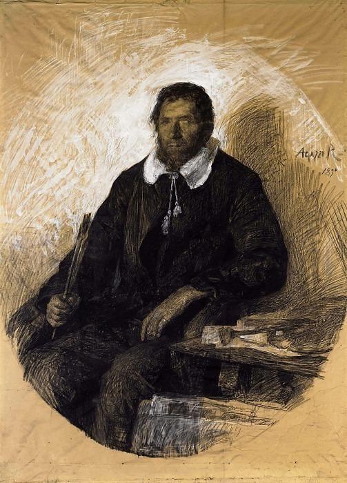 Портрет мужчины. Ринальдо Эмилио Франческо Агацци