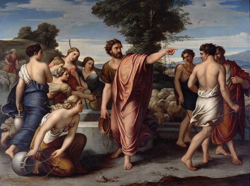 Моисей у источника. Антон Драгер