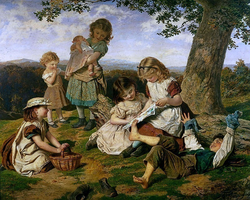 The Children's Story Book. Sophie Gengembre Anderson