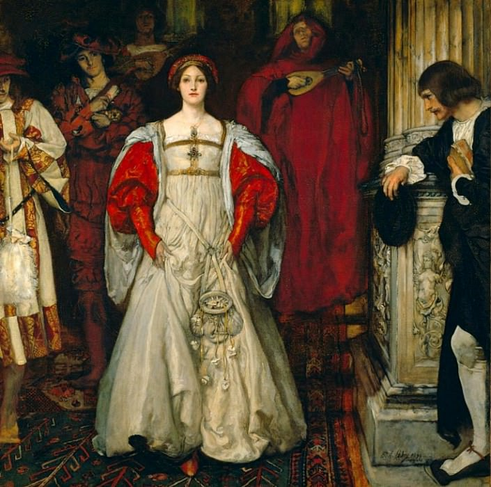 «Who Is Sylvia? What Is She, That All the Swains Commend Her?». Edwin Austin Abbey
