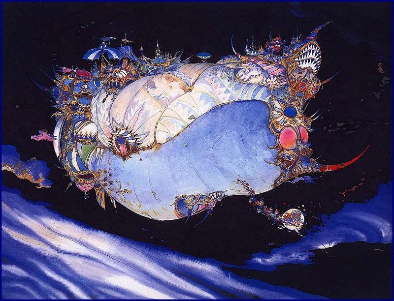 lrsAmanoYoshitaka-LunarArk. Yoshitaka Amano
