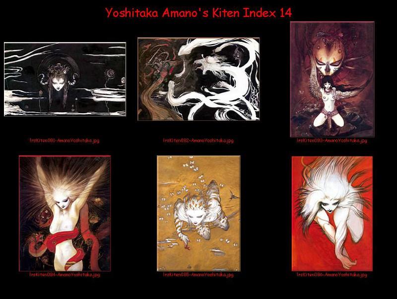 lrsKitenIdx14. Yoshitaka Amano