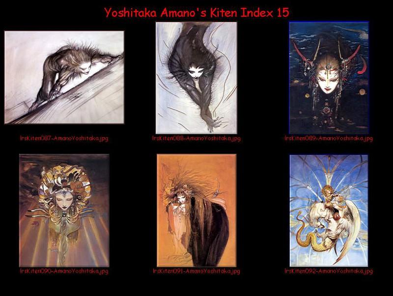 lrsKitenIdx15. Yoshitaka Amano