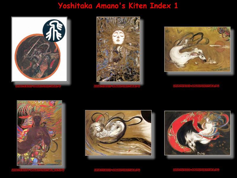 lrsKitenIdx01. Yoshitaka Amano
