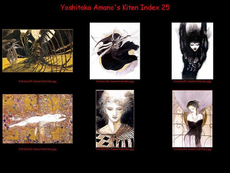 lrsKitenIdx25. Yoshitaka Amano