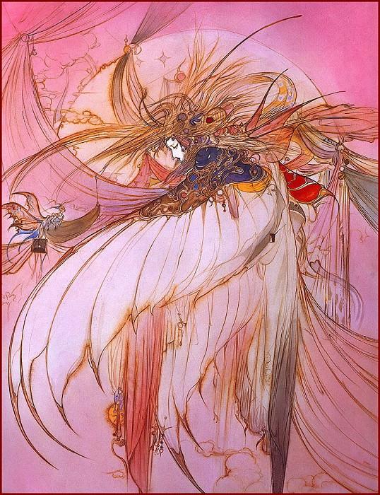 WingWING. Yoshitaka Amano