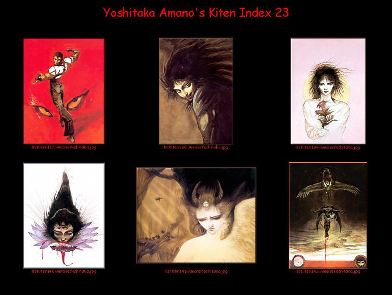 lrsKitenIdx23. Yoshitaka Amano