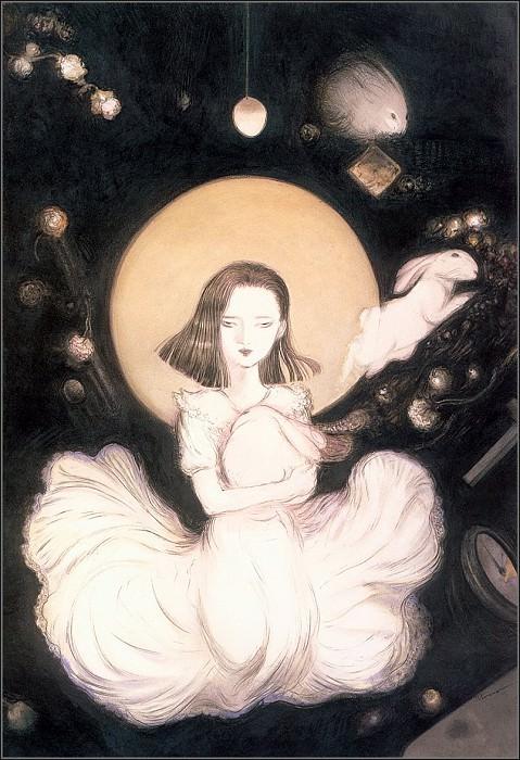 lrsAmanoYoshitaka-Hanako. Yoshitaka Amano