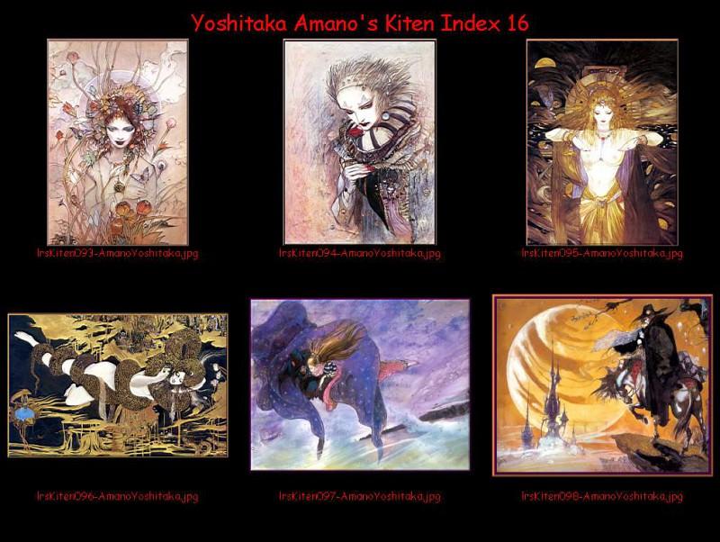 lrsKitenIdx16. Yoshitaka Amano