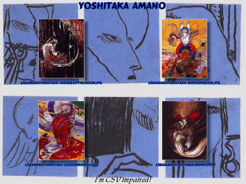 Amano. Yoshitaka Amano