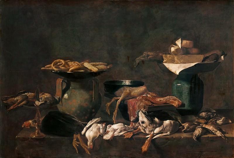 Kitchen Still Life. Evaristo Baschenis