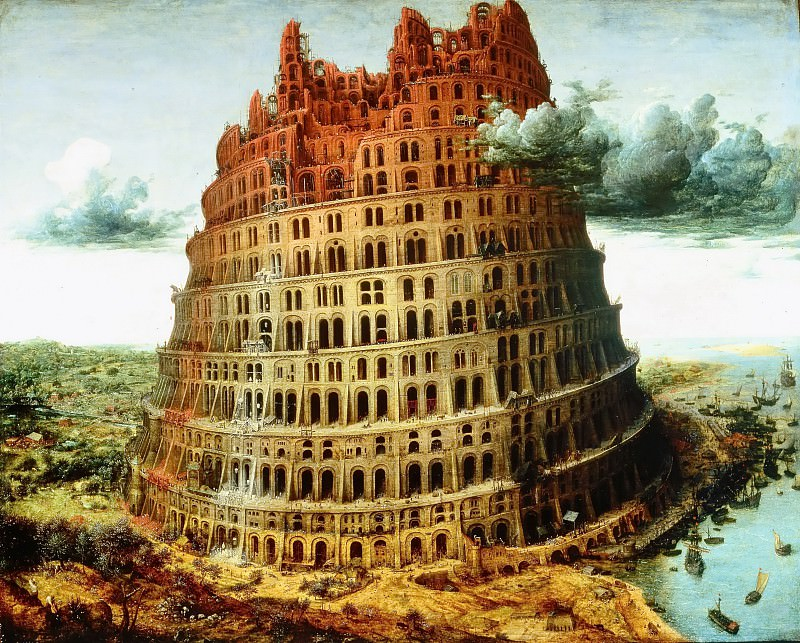 The tower of Babel. Pieter Brueghel The Elder