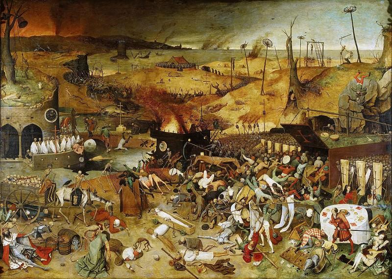 The Triumph of Death. Pieter Brueghel The Elder