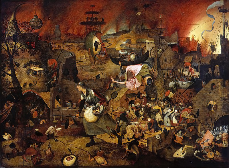 Mad Meg (Dulle Griet). Pieter Brueghel The Elder