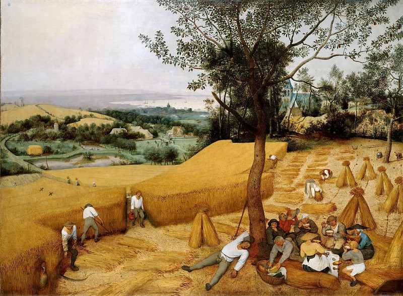 The harvesters. Pieter Brueghel The Elder