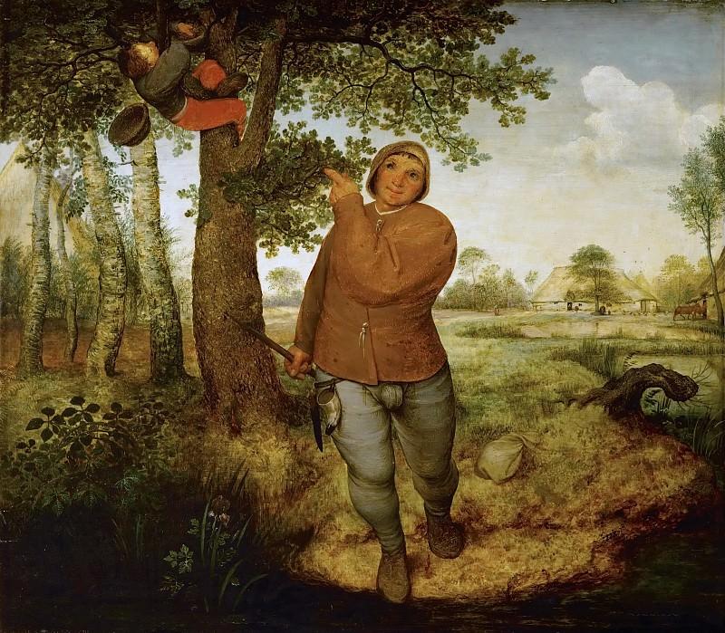 Brueghel, Pieter The Elder -- Разоритель гнёзд, 1568, 59х68,. Kunsthistorisches Museum