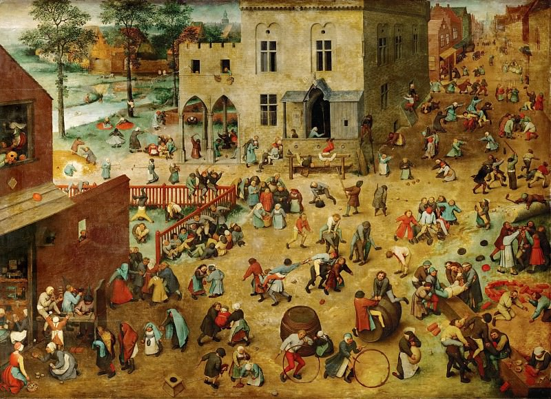 Childrens games. Pieter Brueghel The Elder