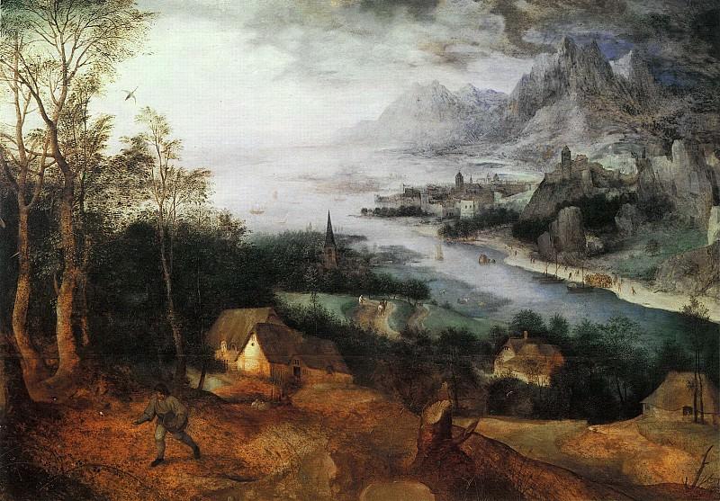 Parable of the Sower. Pieter Brueghel The Elder