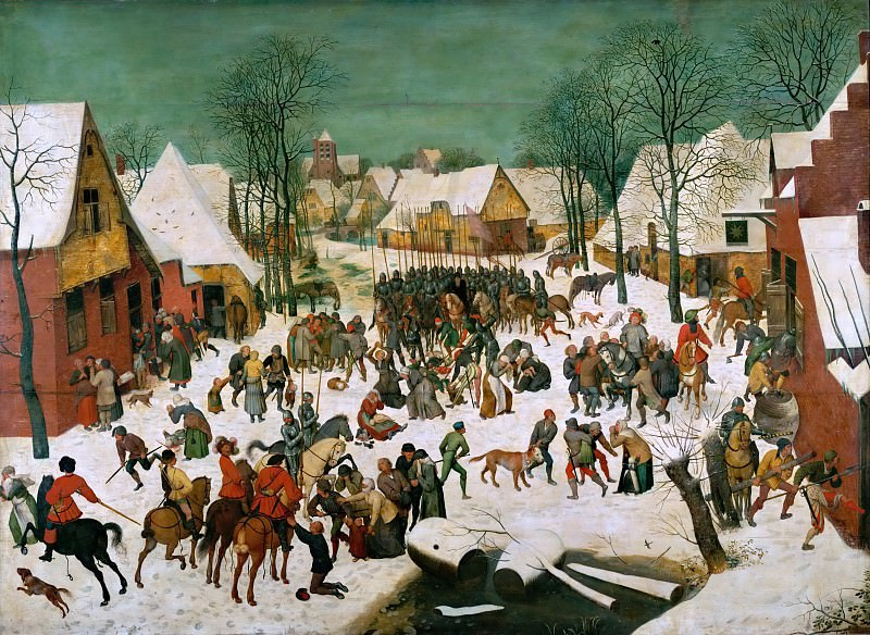 Massacre of the Innocents. Pieter Brueghel The Elder