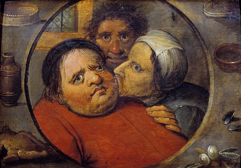 Carnival and lent (copy). Pieter Brueghel The Elder
