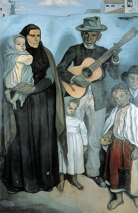 Spanish emigrants. Emile Bernard