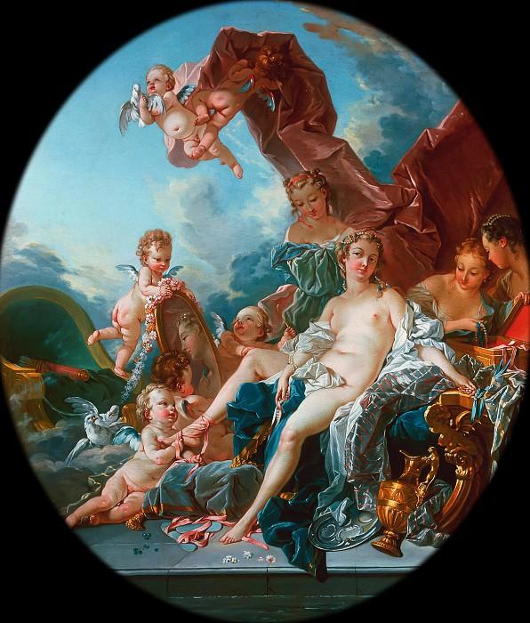 Toilet of Venus. Francois Boucher