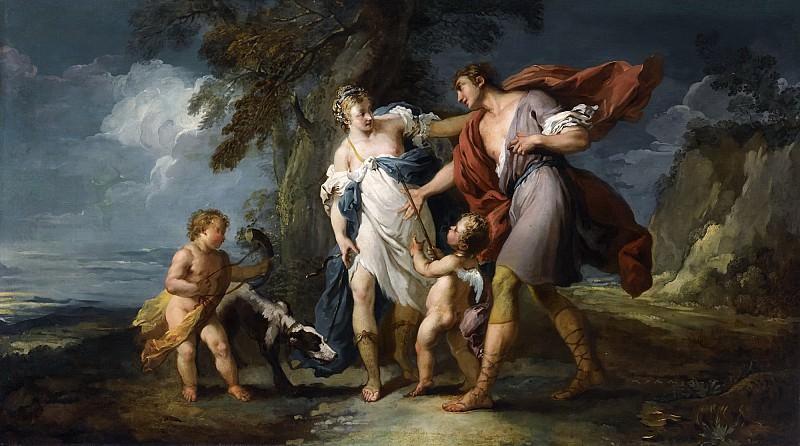 Venus and Adonis. Francois Boucher