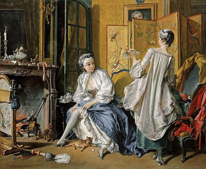 La toilette, 1742. Francois Boucher