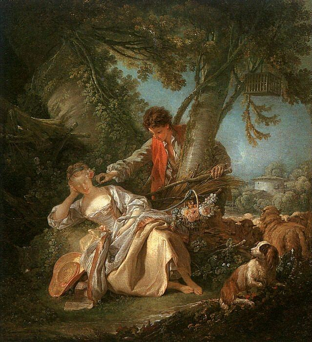 THE INTERRUPTED SLEEP. Francois Boucher