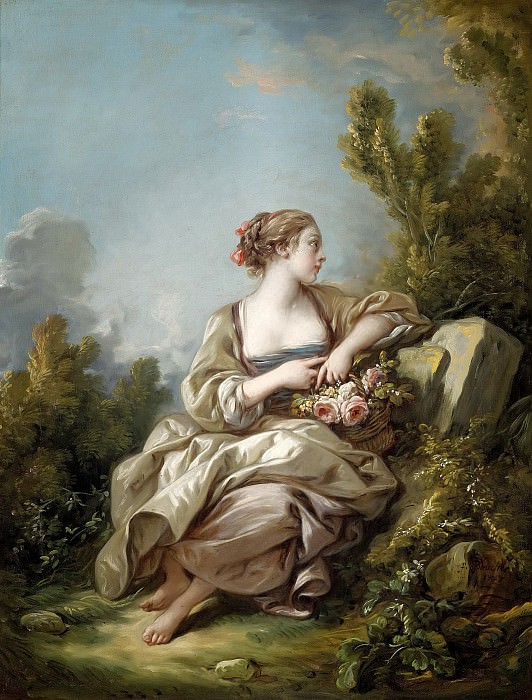 The Gardener. Francois Boucher