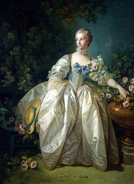 Madame Bergeret. Francois Boucher