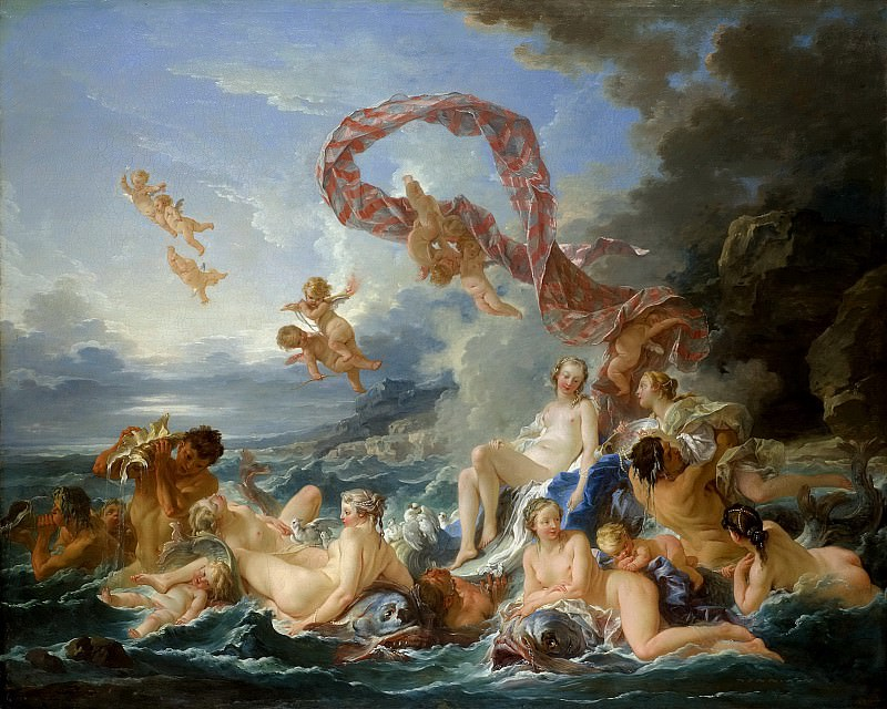 The Triumph of Venus. Francois Boucher