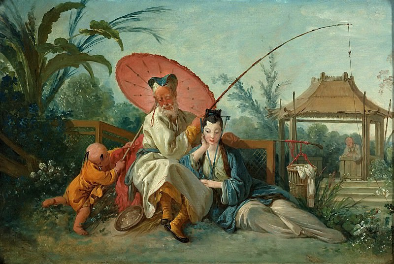 Chinese Fishing. Francois Boucher