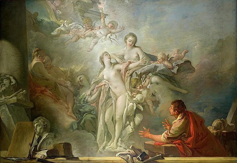 Pygmalion and Galatea. Francois Boucher