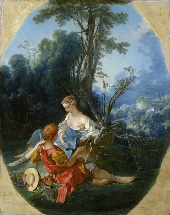 Pleasures of the Country. Francois Boucher